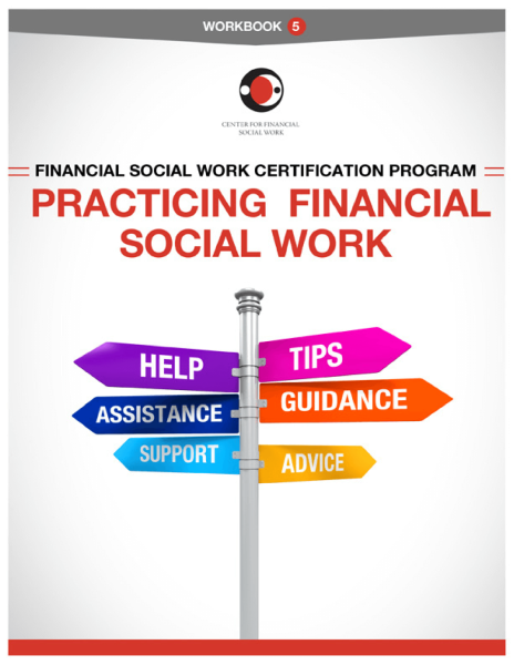 Financial Social Work Certification Program - Workbook 5 Cover