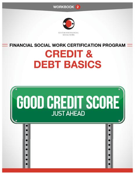 Financial Social Work Certification Program - Workbook 2 Cover