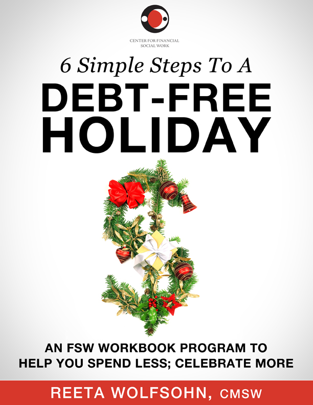 eWorkbook: 6 Simple Steps to a Debt-Free Holiday