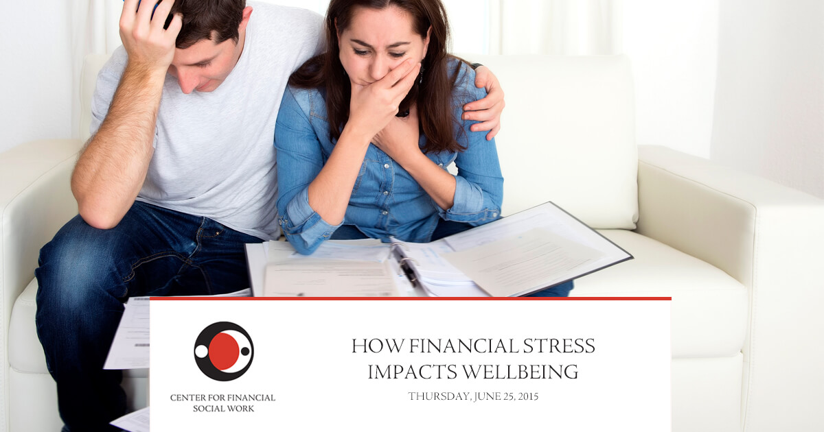 New Webinar: How Financial Stress Impacts Wellbeing