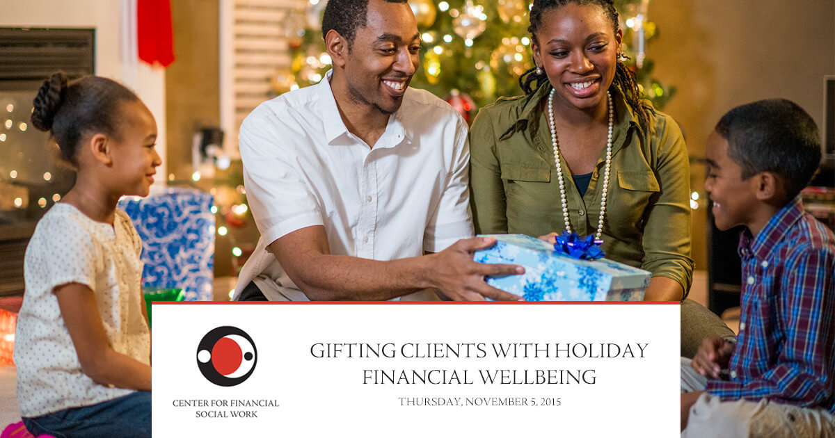Webinar: Gifting Clients With Holiday Financial Wellbeing