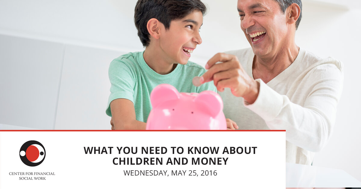 What You Need to Know About Children and Money