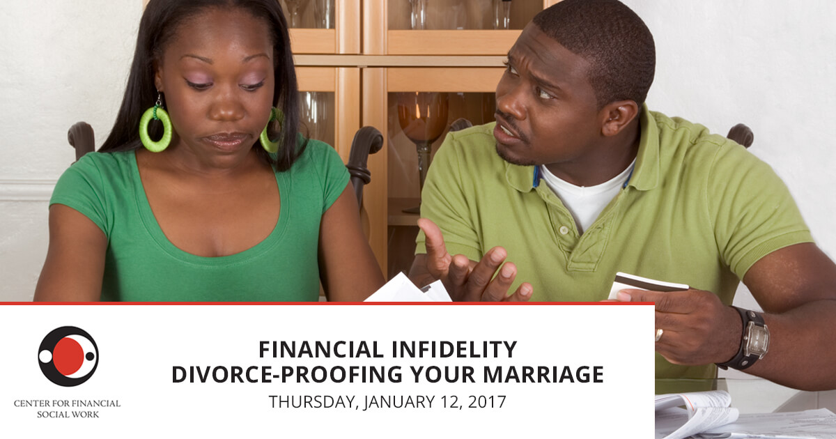Financial Infidelity Divorce - Proofing Your Marriage