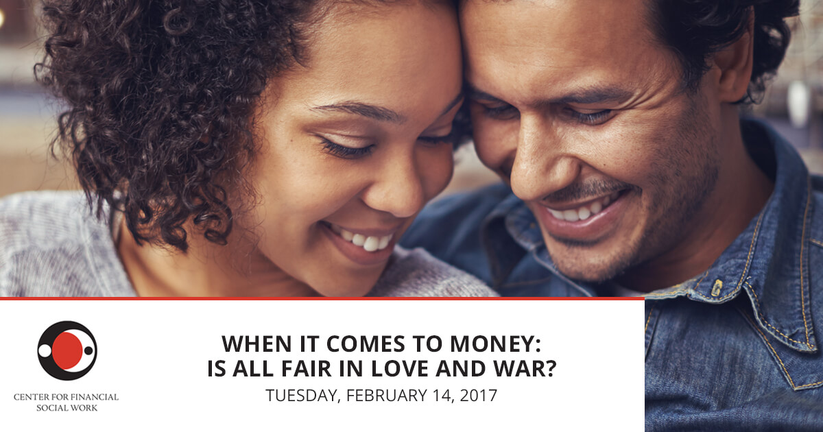 When It Comes to Money: Is All Fair in Love and War?