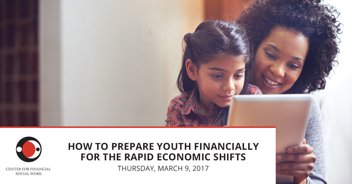 How to Prepare Youth Financially for the Rapid Economic Shifts