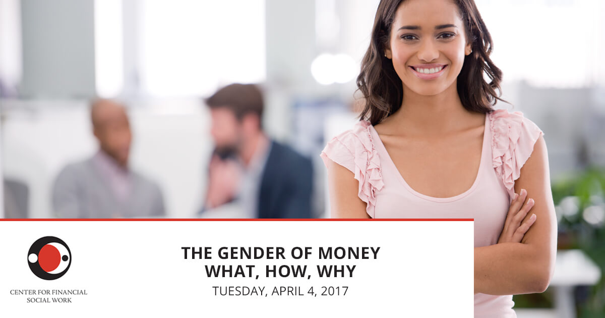The Gender of Money - What it Is, How it Hurts, Why it Matters