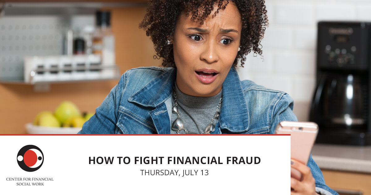 Webinar: How to Fight Financial Fraud