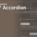[Unity] UIElements Expansions: Tabs / Accordion