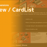 【Unity】UIElements Expansions: CardView / CardList