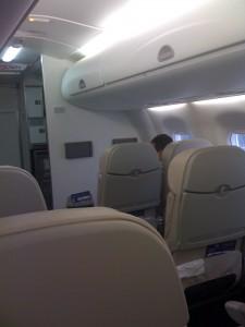 foto avião azul