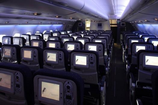 A380 Air France cabine