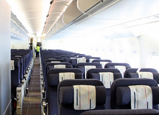 A380 Air France interna