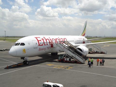Boeing 787 da Ethiopian