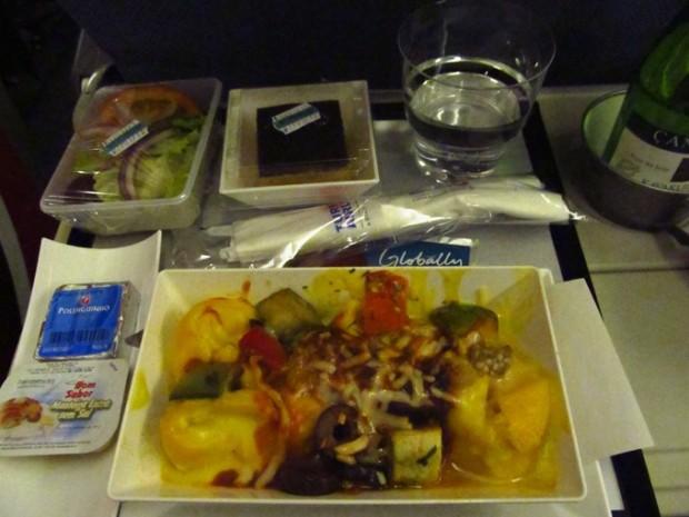 jantar voo ida
