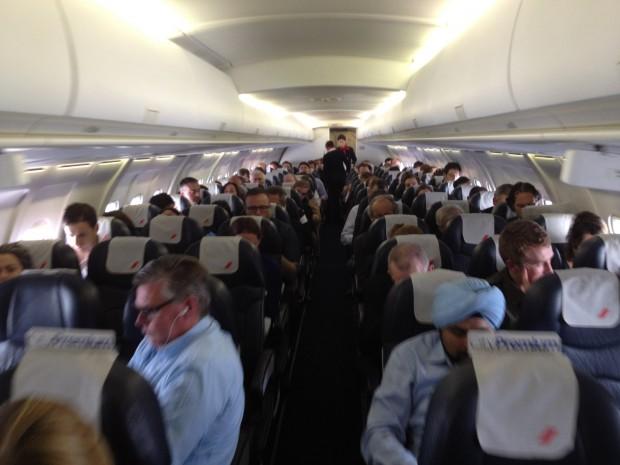 Interior da aeronave 2