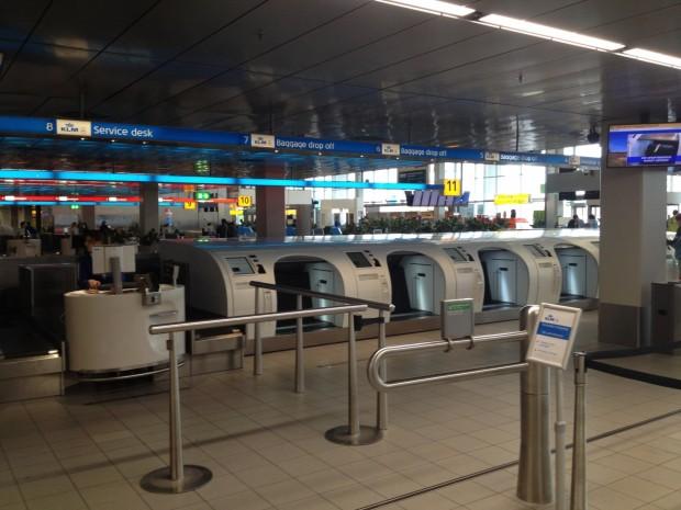 Máquinas para despacho de bagagem