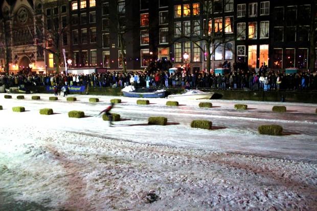 Emperor's race, evento esportivo nos canais congelados de Amsterdam