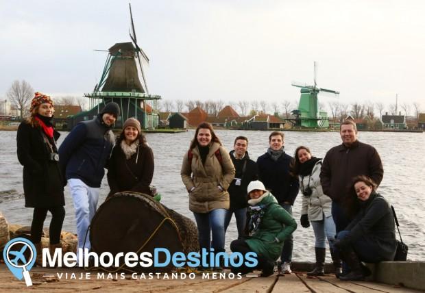 Nossa equipe durante o encontro anual na Holanda