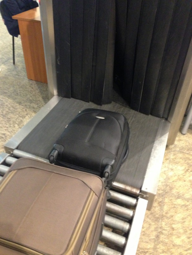 Raio-x da bagagem