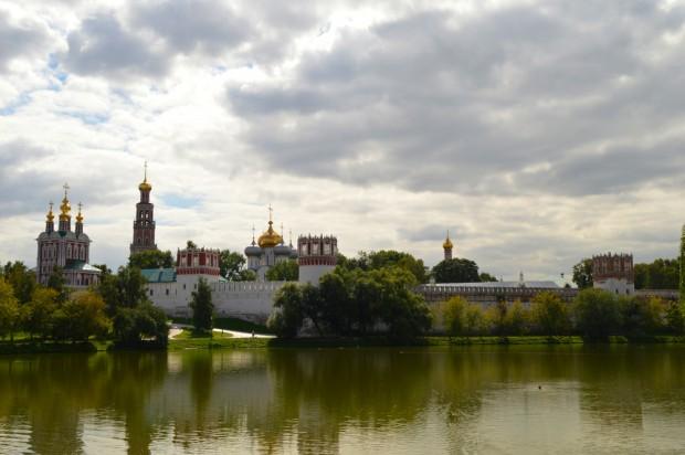 O  Mosteiro Novodevichy - Moscou