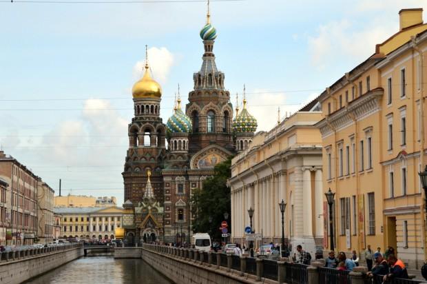 A Igreja do Sangue Derramado - São Petersburgo