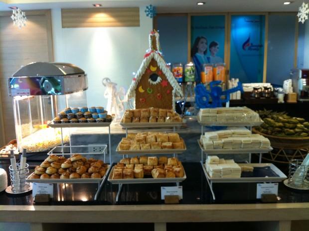 Bangkok airways snacks