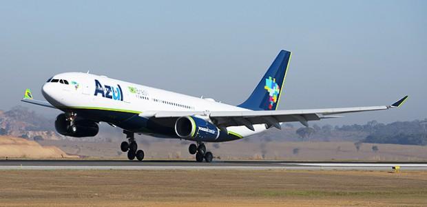 Novo A330 da Azul (foto: Divulgação)