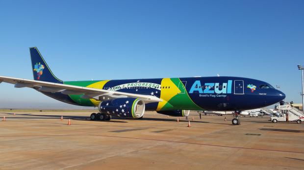 Novo Airbus A330 da Azul (Foto Divulgação)