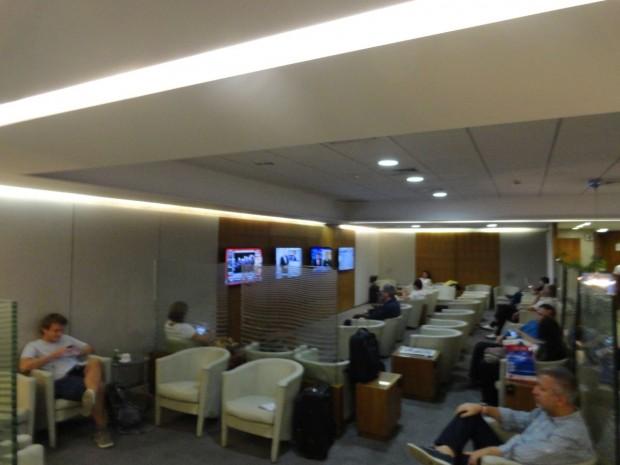 Sala VIP da GOL em São Paulo