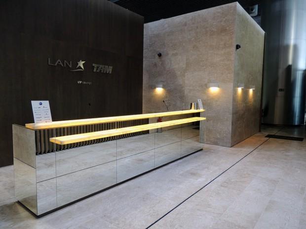 Nova sala VIP TAM (foto divulgação)