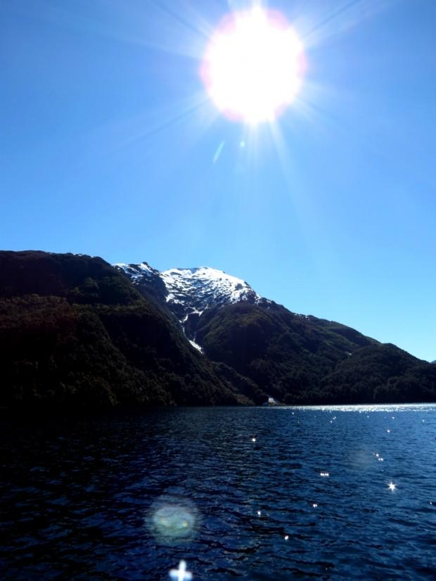 Linda paisagem por entre os lagos do Parque los Alerces. Foto: Marcel Bruzadin