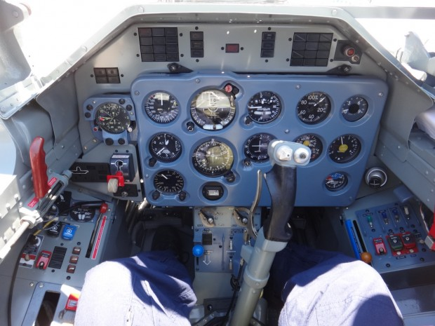 Cockpit do AL39 Albatros