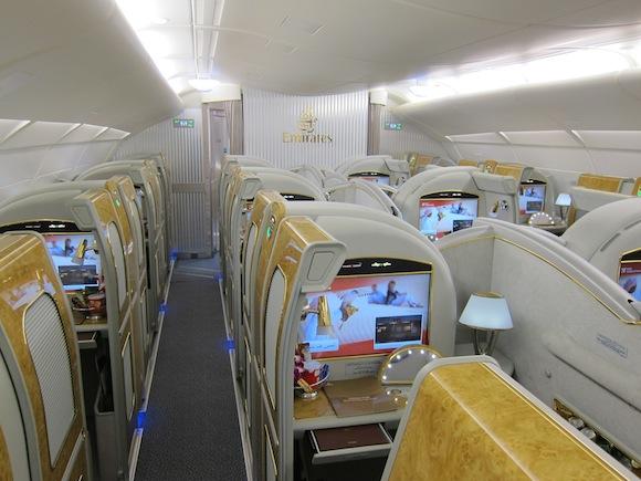 Suíte Primeira Classe da Emirates