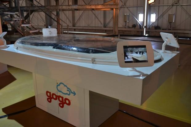 Antena da Gogo que será instalada nos aviões