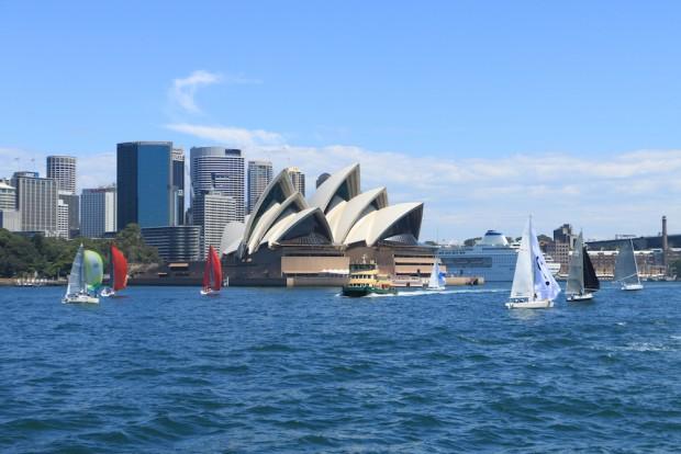 A famosa Opera House de Sydney
