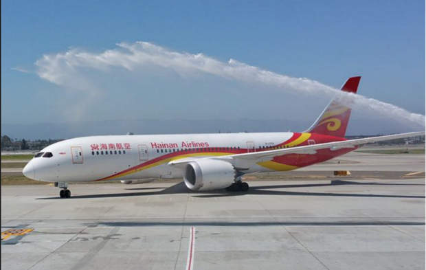 Boeing 787 da Hainan