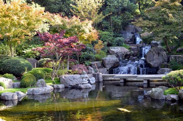 Jardim de Kyoto, Holland Park