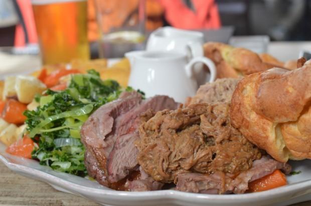Tradicional Sunday Roast do Truscott Arms