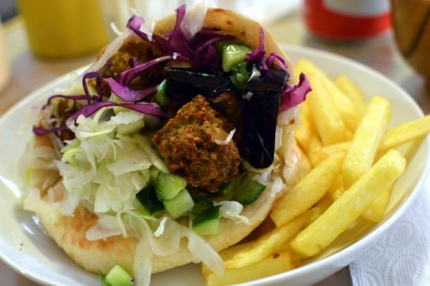 falafel do Mi-va-Mi, no marais