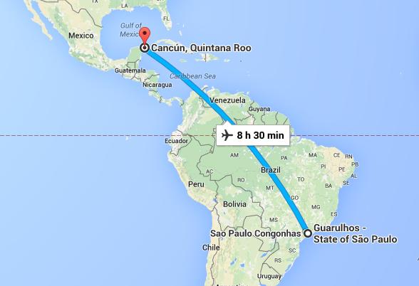 como-chegar-cancun