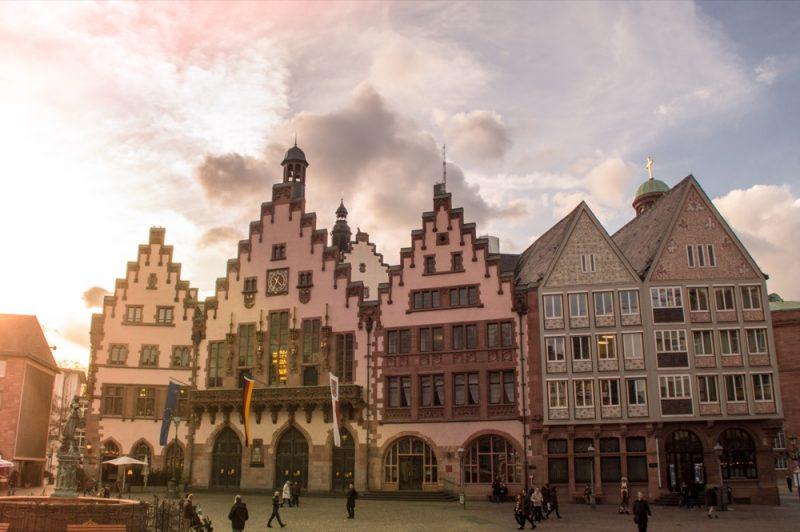 Prédio da Prefeitura de Frankfurt