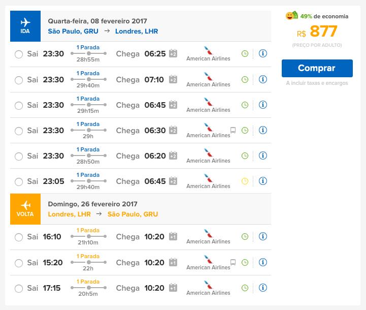 Promoção de passagens aéreas para Londres por apenas R$ 876 ida e volta!