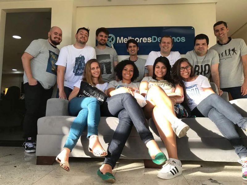 Equipe do Melhores Destinos em nossa sede em Brasília (menos a Gisela, que está em Amsterdã rs)