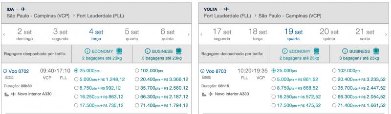 TudoAzul tem voos diretos entre Campinas e Miami por apenas 25 mil ... 095c92f774f7c