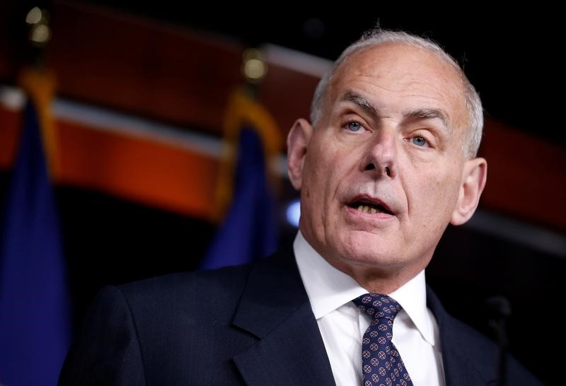 Trump ousts Priebus, names Homeland Security's Kelly as chief of staff