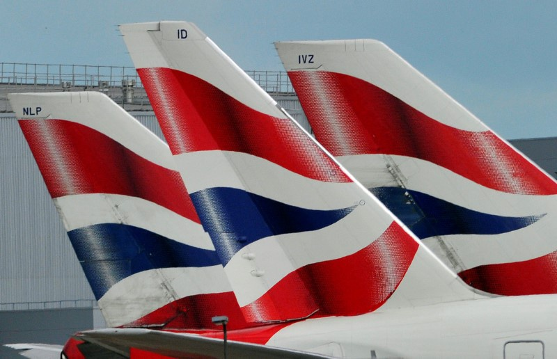 British Airways cancels most flights from London