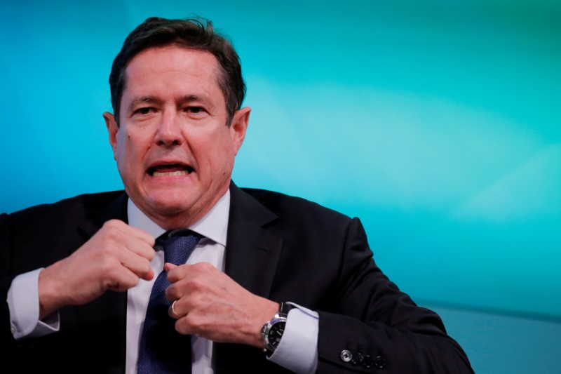 Barclays Jes Staley takes part in the Yahoo Finance All Markets Summit in New York U.S. February