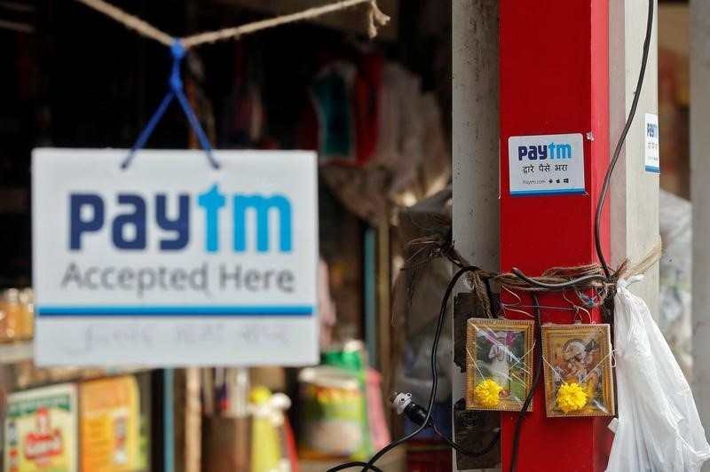 India's Paytm in talks with SoftBank to raise $1.2-$1.5 billion