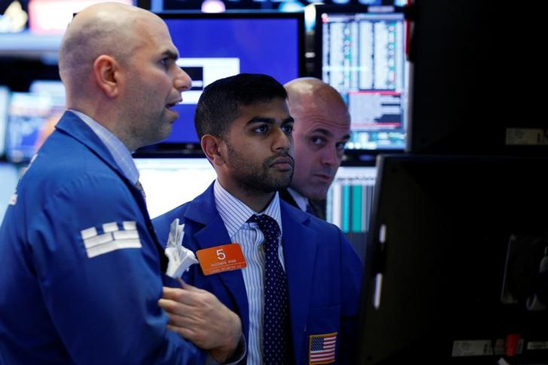 Upbeat US data lifts S&P, Nasdaq to record highs; oil rises