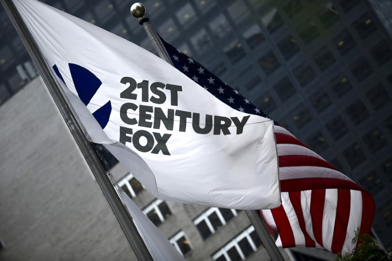 Twenty-First Century Fox, Inc. (NASDAQ:FOXA) reported Sales of 28.4 Billion